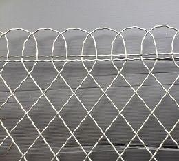 bordure parisienne galvanis e. Black Bedroom Furniture Sets. Home Design Ideas